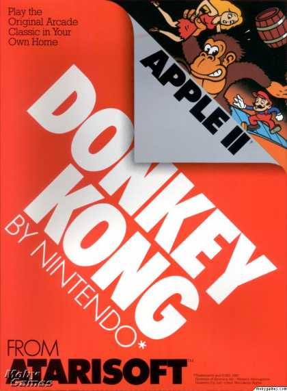 Apple II Games - Donkey Kong