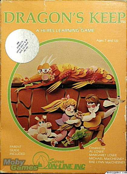 Apple II Games - Dragon's Keep