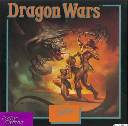 Apple II Games - Dragon Wars