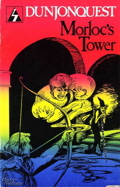 Apple II Games - Dunjonquest: Morloc's Tower