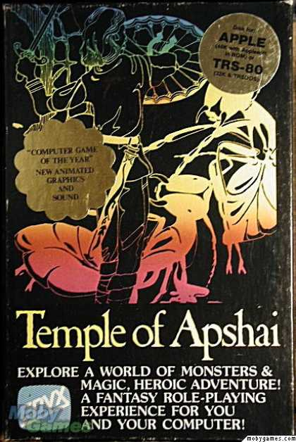 Apple II Games - Dunjonquest: Temple of Apshai