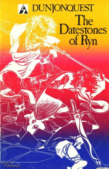 Apple II Games - Dunjonquest: The Datestones of Ryn