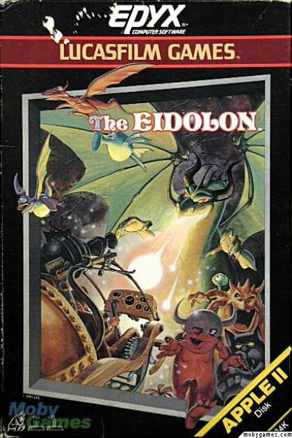 Apple II Games - The Eidolon