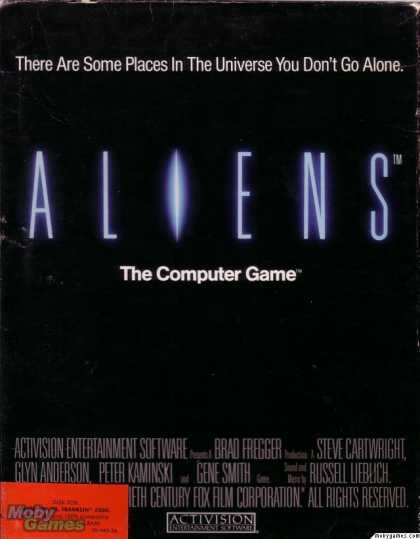 Apple II Games - Aliens: The Computer Game