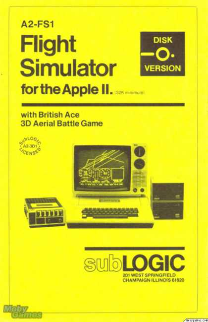 Apple II Games - Flight Simulator