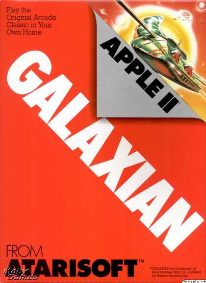 Apple II Games - Galaxian