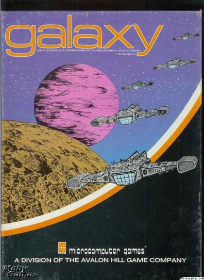 Apple II Games - Galaxy