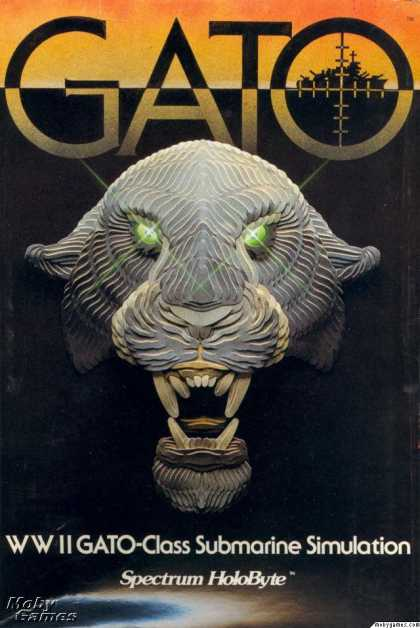 Apple II Games - GATO