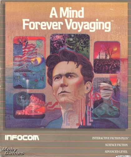 Apple II Games - A Mind Forever Voyaging