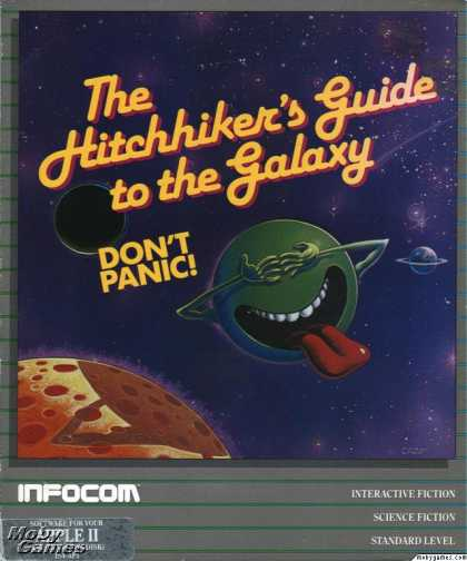 Apple II Games - The Hitchhiker's Guide to the Galaxy