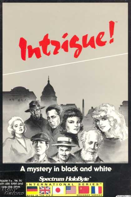 Apple II Games - Intrigue!