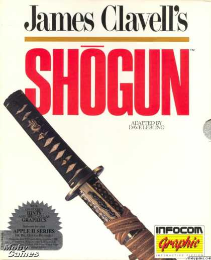 Apple II Games - James Clavell's Shogun