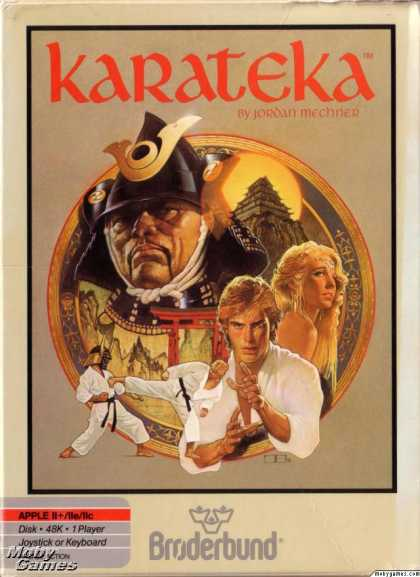 Apple II Games - Karateka