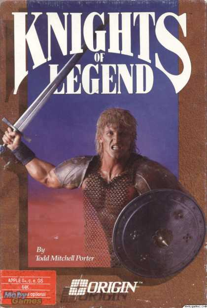 Apple II Games - Knights of Legend