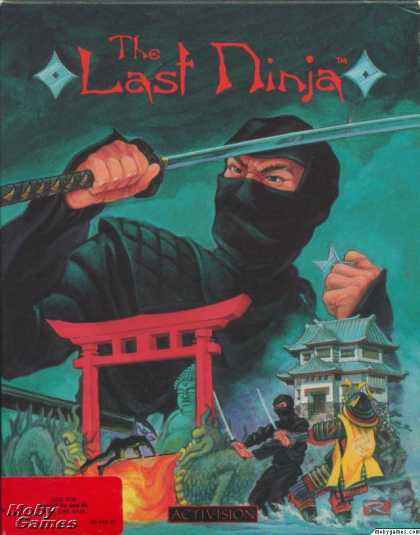 Apple II Games - The Last Ninja