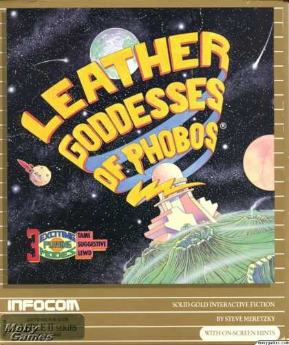 Apple II Games - Leather Goddesses of Phobos