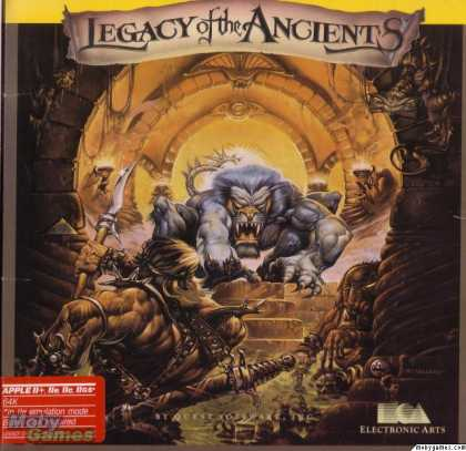 Apple II Games - Legacy of the Ancients
