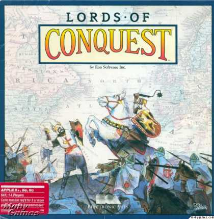 Apple II Games - Lords of Conquest