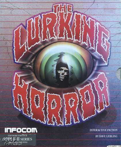 Apple II Games - The Lurking Horror