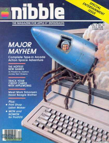 Apple II Games - Major Mayhem