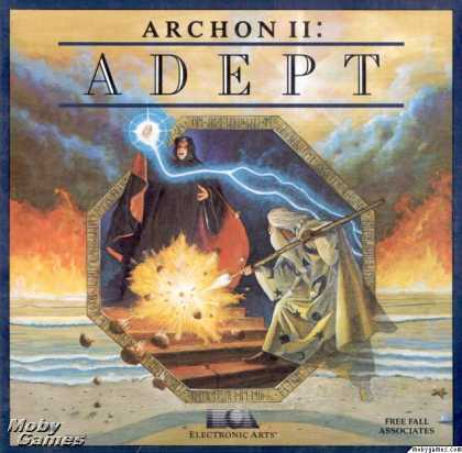 Apple II Games - Archon II: Adept