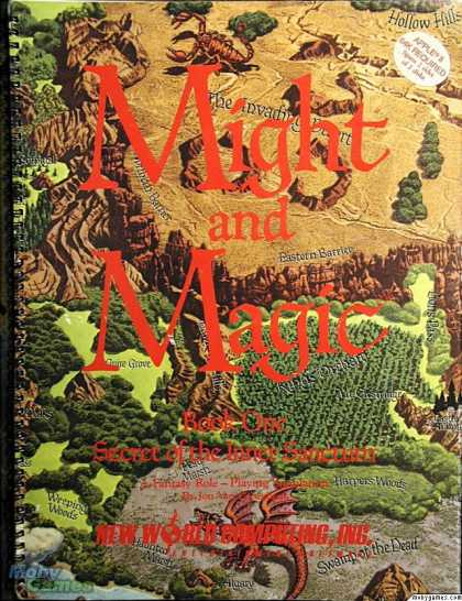 Apple II Games - Might and Magic: Book I