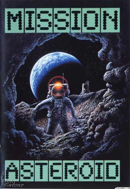 Apple II Games - Mission: Asteroid