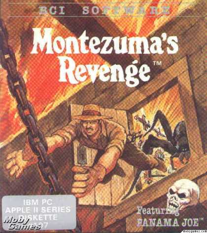 Apple II Games - Montezuma's Revenge