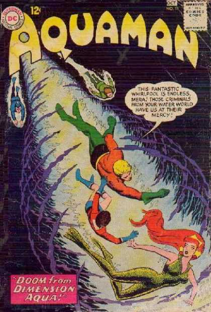 Aquaman 11 - Whirlpool - Mera - Doom - Criminals - Mercy - Nick Cardy, Tony Harris