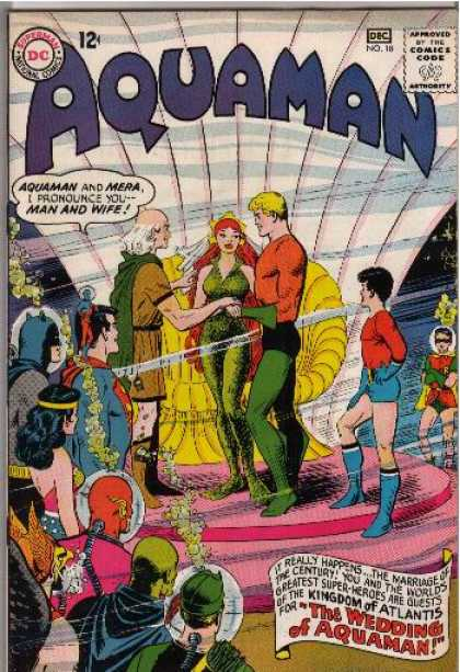 Aquaman 18 - Mera - Kingdom Of Atlantis - Ceremony - Superheroes - Wedding - Alan Davis