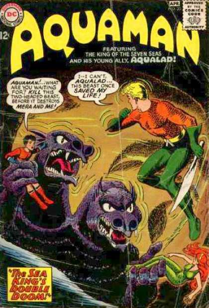Aquaman 20 - Superman - Approved By The Comics Code - Monster - Man - The Sea Kings Double Doom - Alan Davis, Phil Jimenez