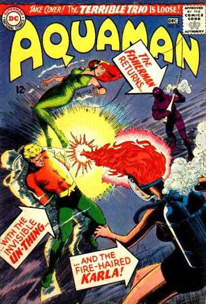 Aquaman 24 - King - Seven Seas - Partner - Trap - Woman - Nick Cardy, Patrick Gleason