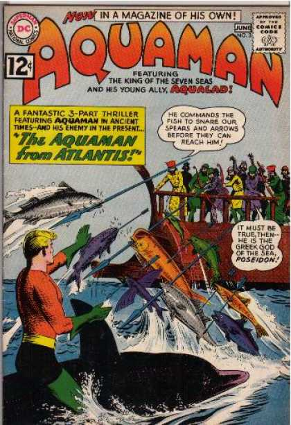 Aquaman 3 - Dc - Dc Comics - Sea - Atlantis - Aqualad - Nick Cardy, Terry Austin