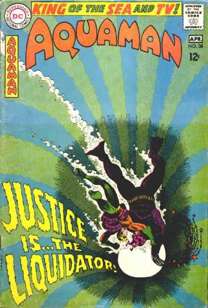 Aquaman 38 - Don Kramer, Nick Cardy