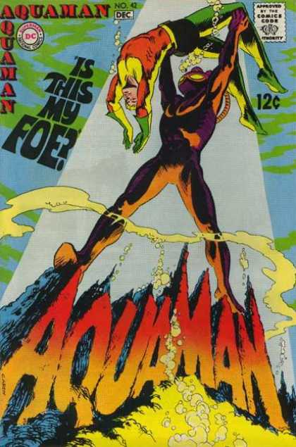 Aquaman 42 - Superman - Superhero - Comics Code - Is This My Foe - Water - Mark McKenna, Nick Cardy