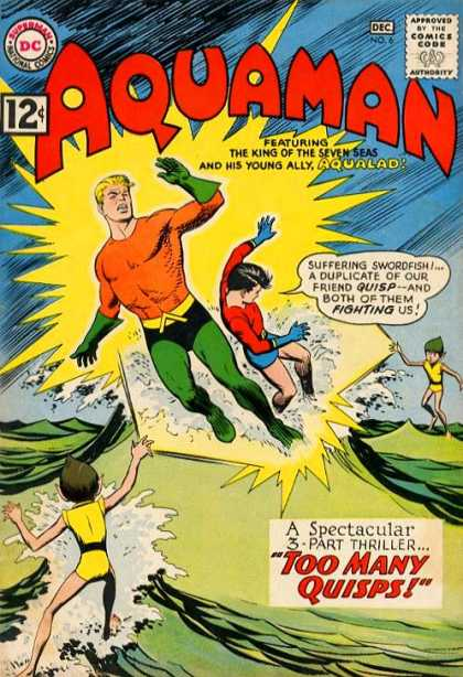 Aquaman 6 - Aqualad - Quisp - Ray - Too Many Quisps - Clones - Nick Cardy, Yvel Guichet