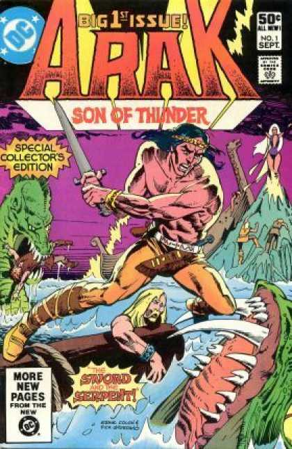 Arak 1 - Arak - 1st Issue - Son Of Thunder - Special Collectors Edition - The Sword And The Serpent