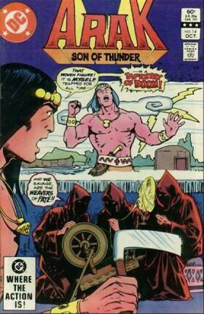 Arak 14 - Comics - Native Indian - Hero - Thunderstorms - Animated