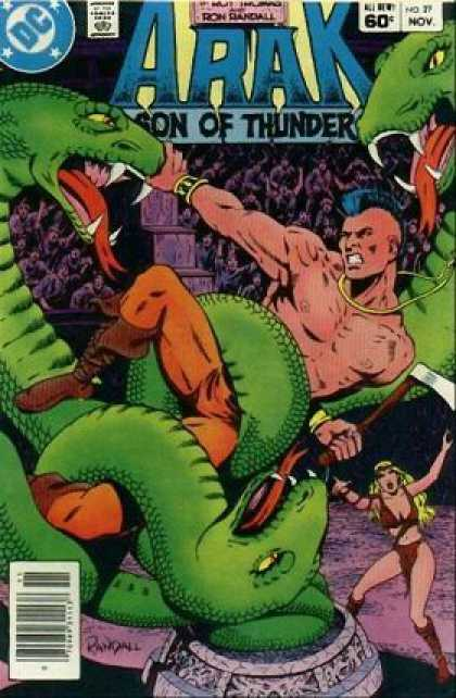 Arak 27 - Dc - Comics Code - Son Of Thunder - Snake - Man