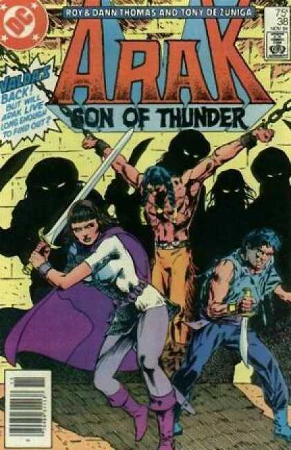 Arak 38 - Prisoner - Warrior - Defended - Friends - Dark Shadows