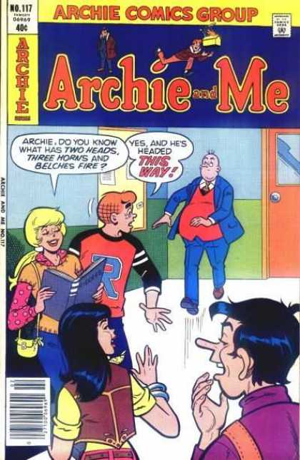 Archie and Me 117 - No 117 - Comics Group - Teacher - Betty - School