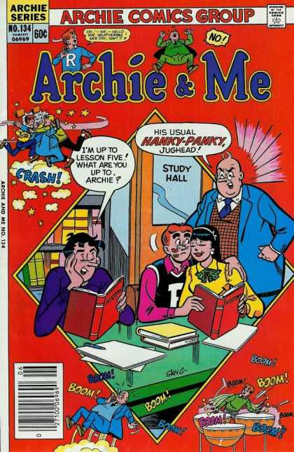 Archie and Me 134 - Teenagers - School - Principal - Kisses - Jughead - Stan Goldberg