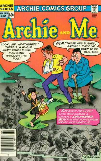 Archie and Me 145 - Archie Comics - Archie - Mr Weatherbee - Civil War Soldiers - Drummer Boy