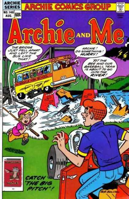 Archie and Me 146 - Broken Bridge - Bus - Fishing - Save - Archie