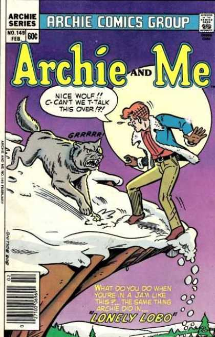 Archie and Me 149 - Archie - Comics - Wolf - Series - Lonely Lobo