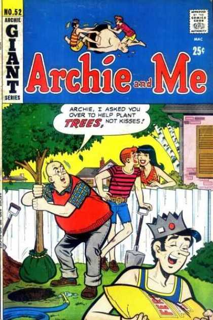 Archie and Me 52 - Trees - Kisses - Jughead - Fence - Shovel