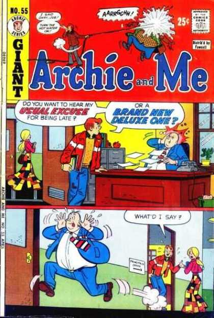 Archie and Me 55 - Archie Series - Approved By The Comics Code - Man - Woman - Brand New Deluxe One