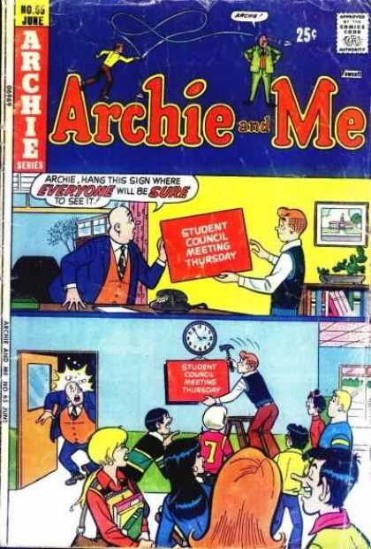 Archie and Me 65 - Archie Series - No66 June - Wall Clock - Hammer - Bag