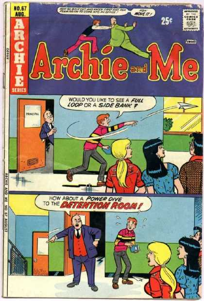 Archie and Me 67 - No 67 August - Archie Series - Comic - Veronica - Betty