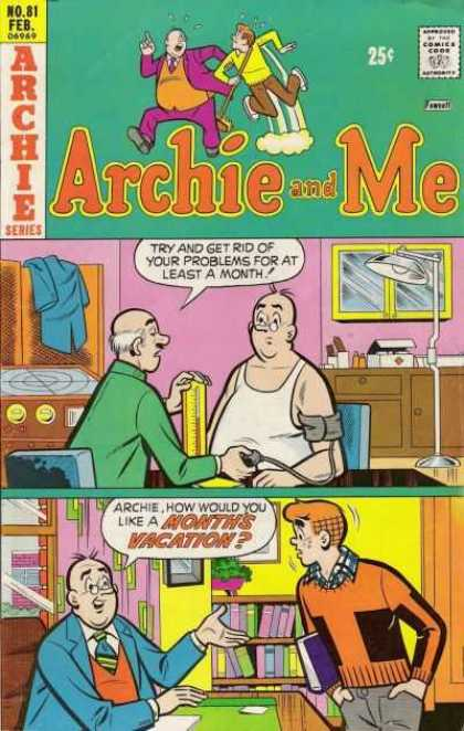 Archie and Me 81 - Archie Series - No 81 - Month Vacation - Archies Boss - Doctor